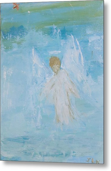 Heavenly Angel Child Metal Print