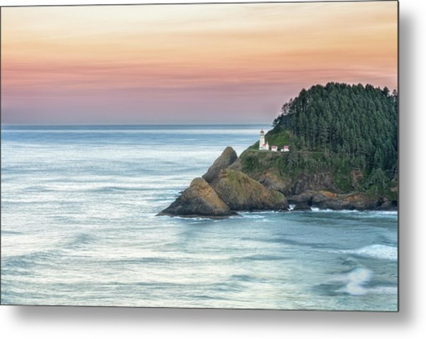 Heceta Lighthouse Metal Print