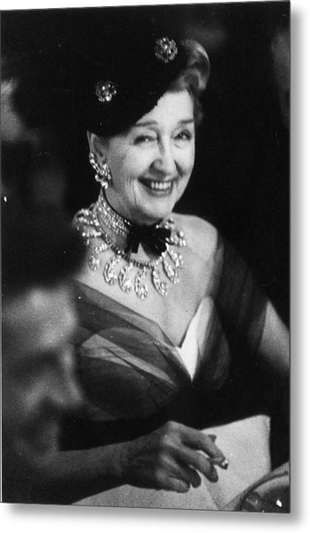 Hedda Hopper Metal Print by Slim Aarons