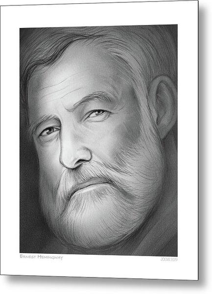Hemingway Metal Print