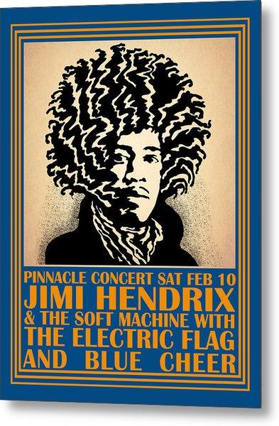 Hendrix Pinnacle Concert Metal Print