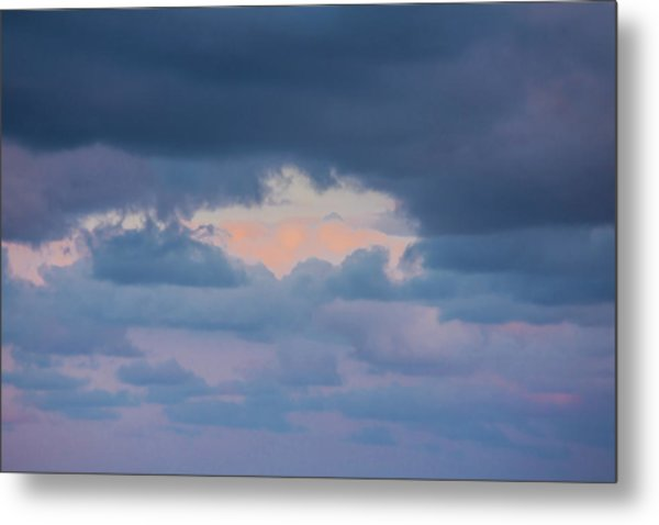 High Above The Clouds Metal Print