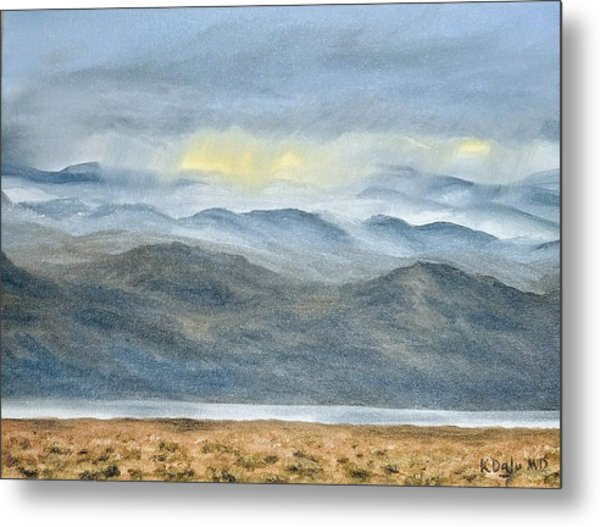 High Desert Morning Metal Print