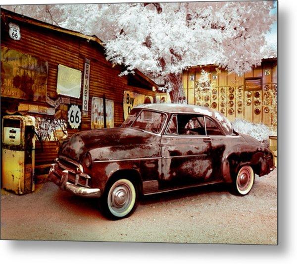 Highsmith Old Car Metal Print