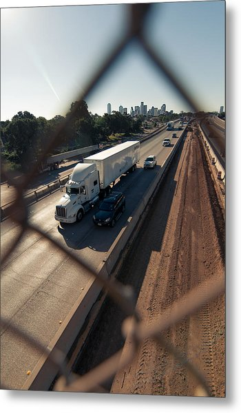 Highway Capture Metal Print
