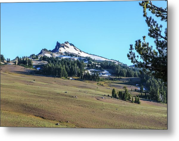 Metal Print featuring the photograph Hillman Peak Crater Lake National Park by Dawn Richards
