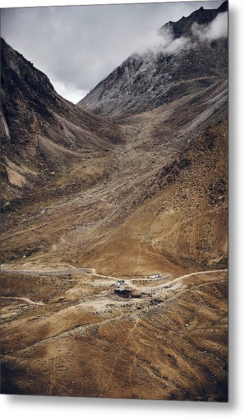 Metal Print featuring the photograph Himalayan Outpost by Whitney Goodey