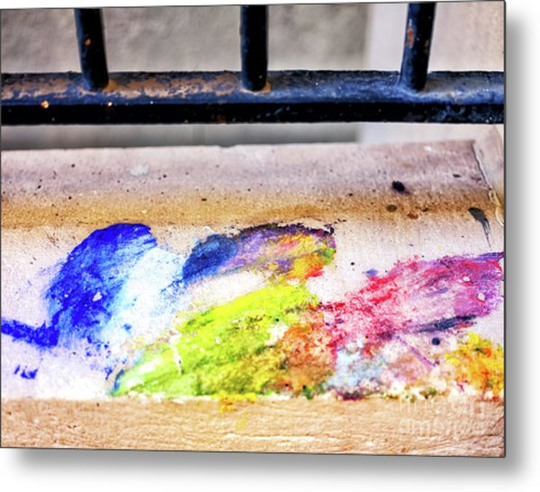 Hint Of Color In New Orleans Metal Print by John Rizzuto