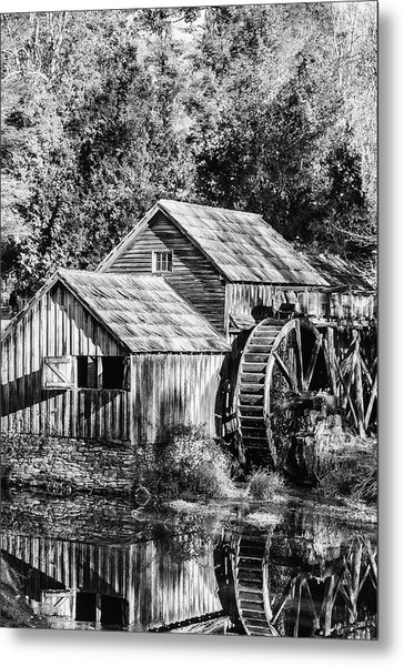 Historic Mabry Mill Metal Print