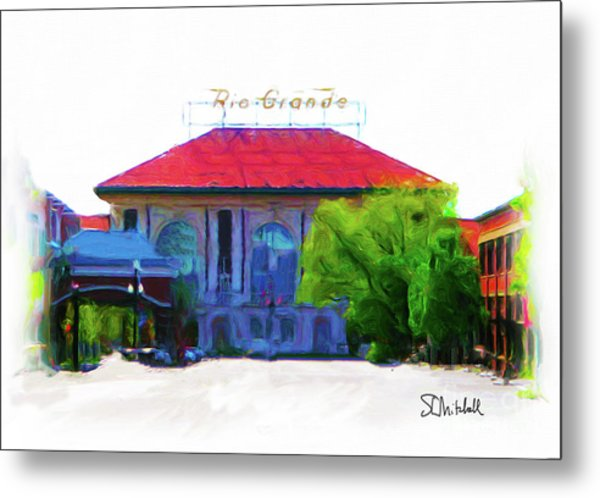 Historic Rio Grande Station Metal Print