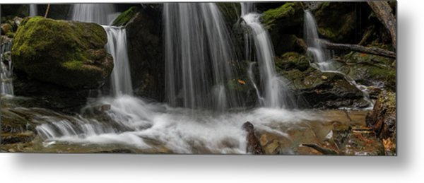Metal Print featuring the photograph Hogcamp Branch Falls Vi 3x1 by William Dickman