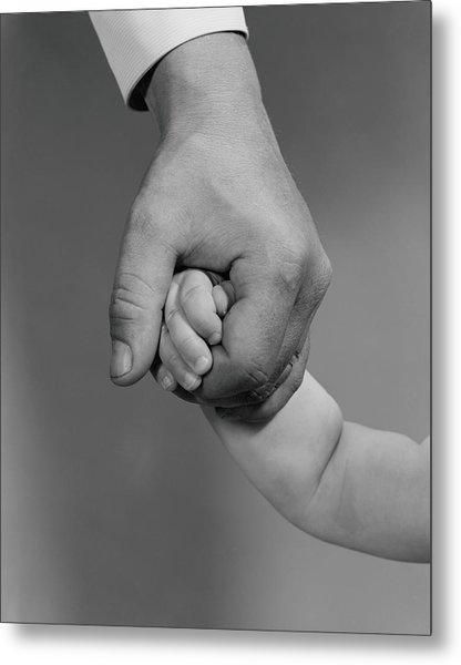 Holding Hands Metal Print by H. Armstrong Roberts