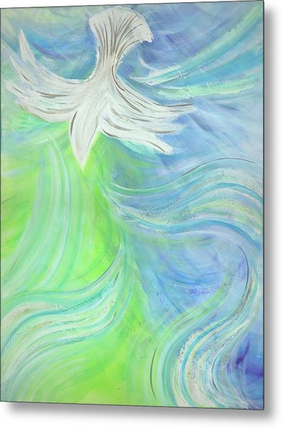 Holy Spirit Outpouring Metal Print