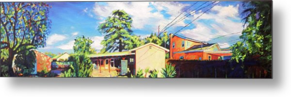 Home In The Valley Metal Print
