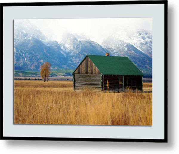 Metal Print featuring the photograph Home On The Range by Pete Federico