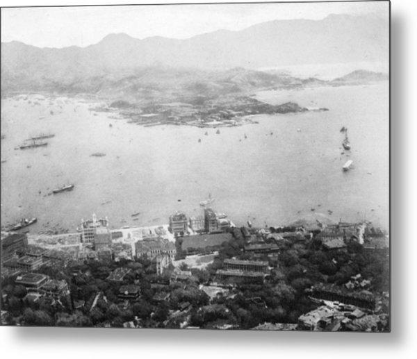 Hong Kong Metal Print by Hulton Archive