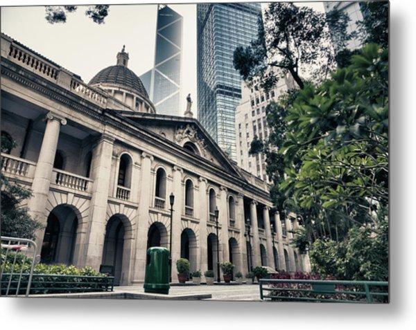 Hong Kong Legislative Council Metal Print