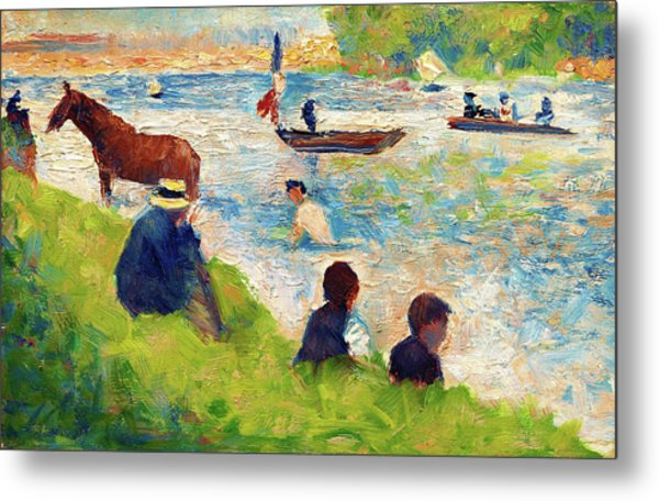 Horse And Boats - Digital Remastered Edition Metal Print