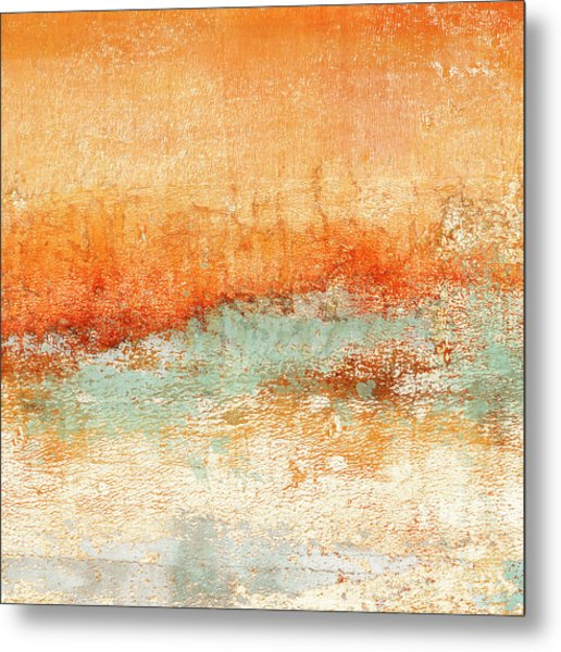 Hot Days Cool Waters Square Format Metal Print