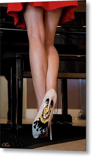 Hot Legs Metal Print