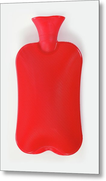 Hot Water Bottle Metal Print by Rolfbodmer