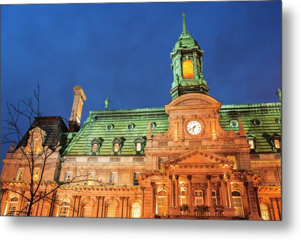 Hotel De Ville Is Actually An Opulent Metal Print