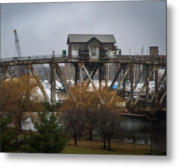 House Bridge Metal Print