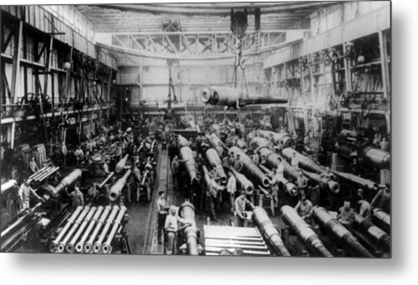House Of Krupp Metal Print by Hulton Archive