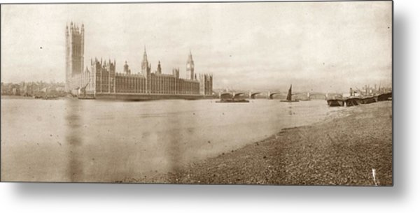 Houses Of Parliament Metal Print by Hulton Archive