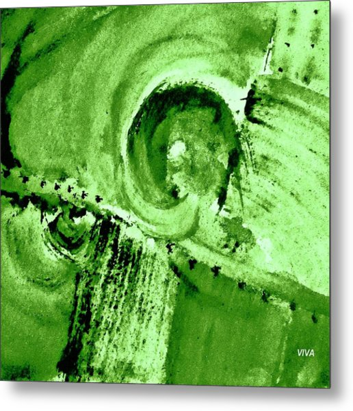 How Green Was My Valley Metal Print