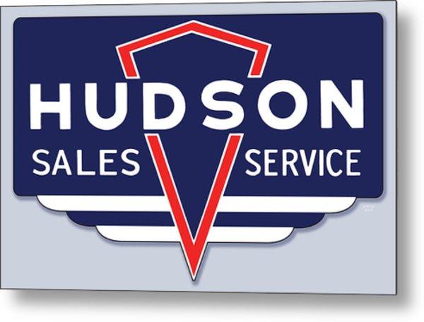 Hudson Motor Co. Metal Print