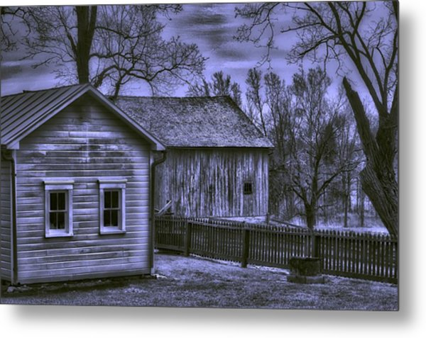 Humble Homestead Metal Print