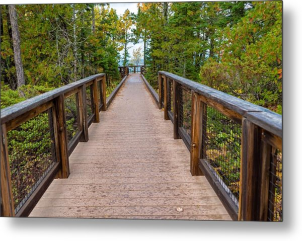 Hunter's Point At Copper Harbor Metal Print