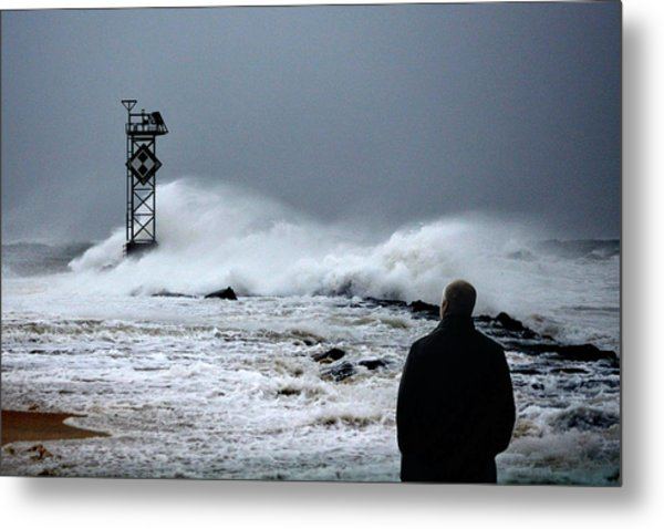 Metal Print featuring the photograph Hurricane Watch by Bill Swartwout Fine Art Photography