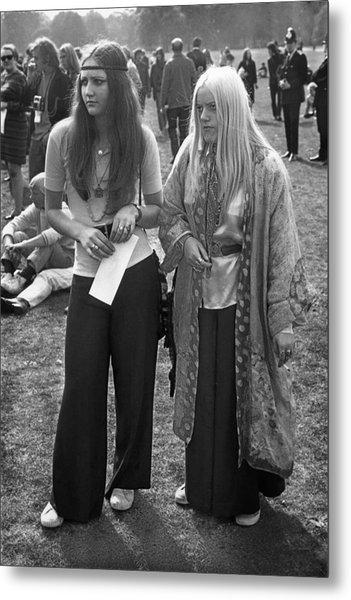 Hyde Park Hippies Metal Print
