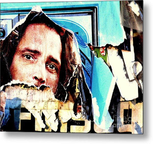 I Am Watching You Metal Print