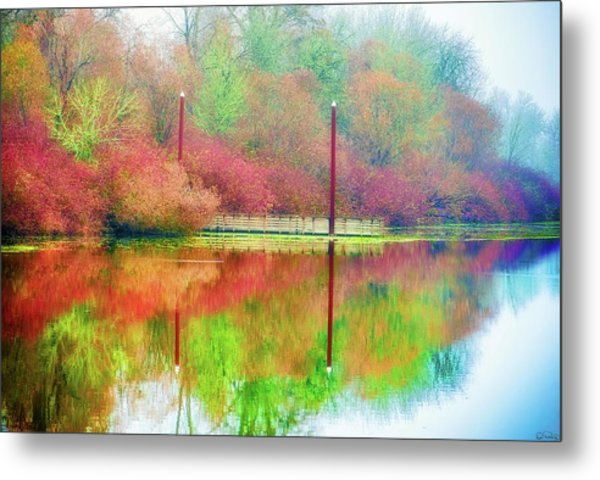 Metal Print featuring the photograph I Dream Of Autumn by Dee Browning