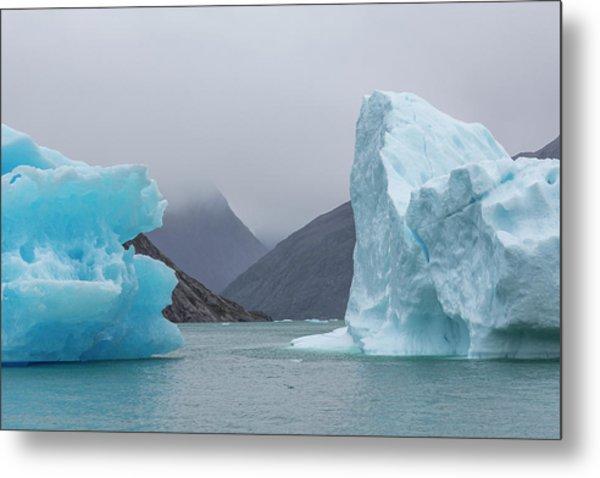 Ice Giants Metal Print