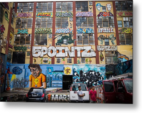 Iconic New York Graffiti Landmark To Be Metal Print