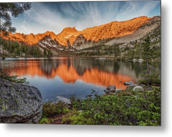 Idaho Wilderness Metal Print by Leland D Howard
