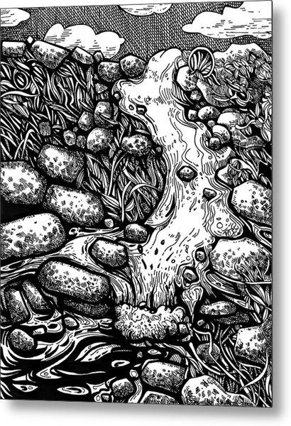 Idyllic Landscape Metal Print