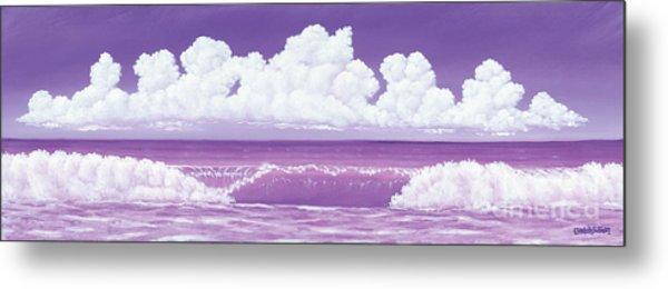 If The Sky Was Purple Metal Print