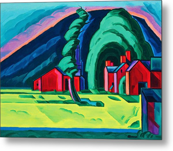 Illusion Of A Prairie, New Jersey - Digital Remastered Edition Metal Print