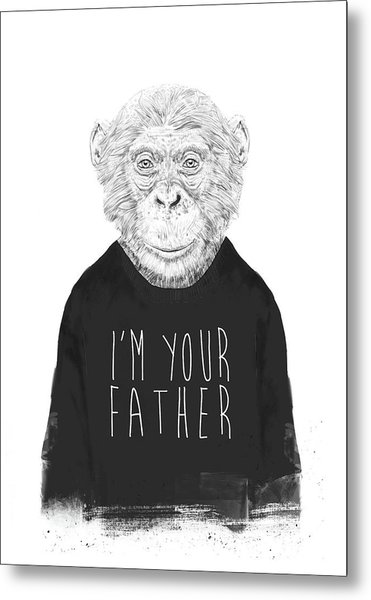 I'm Your Father Metal Print