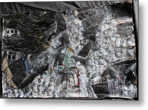 Immersed And Flawed By Cash Flow Metal Print