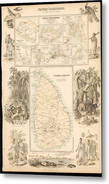 Imperial Possessions Metal Print by Hulton Archive