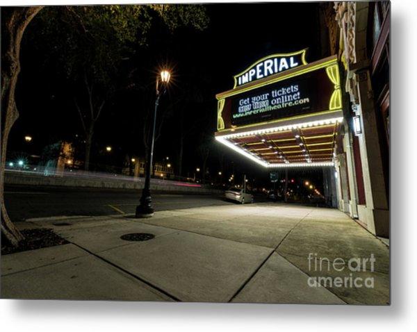 Imperial Theatre Augusta Ga Metal Print