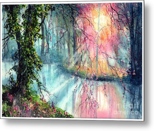 In The Nature Reserve Metal Print