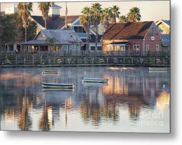 In The Stillness Of The Morn Fine Art Photography By Mary Lou Chmura Metal Print