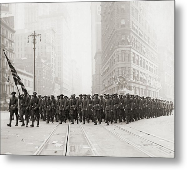 Infantry Parade Metal Print by Fpg